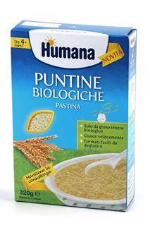 HUMANA PUNTINE BIOLOGICHE PASTINA 320 G - Carafarmacia.it