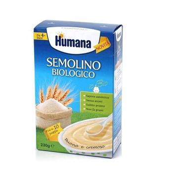 HUMANA SEMOLINO BIOLOGICO 230 G - Farmafamily.it