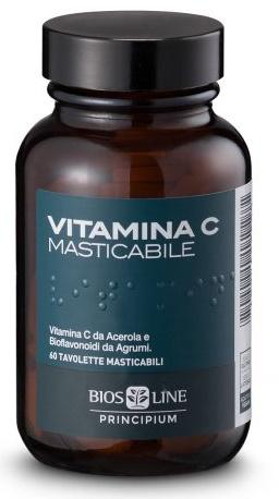 PRINCIPIUM VITAMINA C NATURALE 60 COMPRESSE MASTICABILI 72 G - Farmaciasconti.it