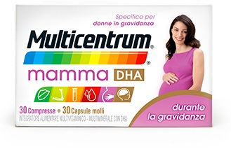MULTICENTRUM MAMMA DHA 30 COMPRESSE + 30 CAPSULE - Farmastar.it