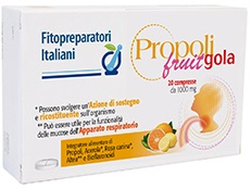 PROPOLI FRUIT GOLA 20 COMPRESSE - Farmapage.it