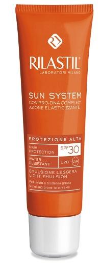 RILASTIL SUN SYSTEM PHOTO PROTECTION THERAPY SPF30 EMULSIONE PELLI MISTE 50 ML - FARMAPRIME