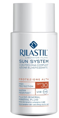 RILASTIL SUN SYSTEM PHOTO PROTECTION THERAPY SPF30 FLUIDO MINERAL 50 ML - FARMAPRIME