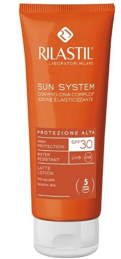 RILASTIL SUN SYSTEM PHOTO PROTECTION THERAPY SPF30 LATTE 100 ML - latuafarmaciaonline.it