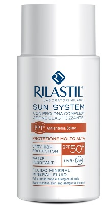 RILASTIL SUN SYSTEM PHOTO PROTECTION THERAPY SPF50+ FLUIDO MINERAL 50 ML - latuafarmaciaonline.it