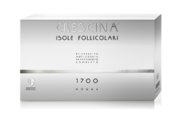 CRESCINA ISOLE FOLLICOLARI 1700 DONNA 10+10 FIALE TRATTAMENTO COMPLETO  3,5 ML - Farmaedo.it