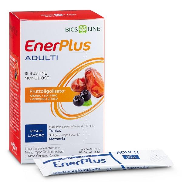 BIOSLINE ENER PLUS ADULTI 15 BUSTINE X 10 ML - Farmastar.it