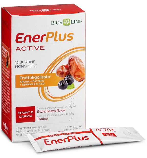 BIOSLINE ENER PLUS ACTIVE 15 BUSTINE X 10 ML - Farmacianuova.eu