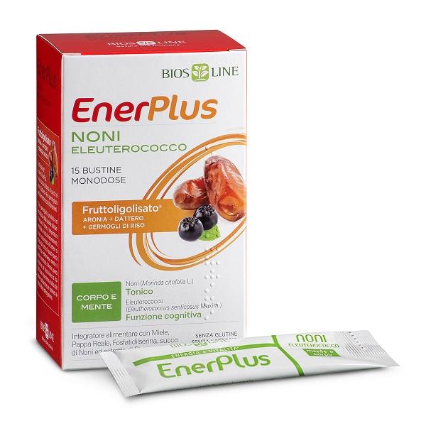 BIOSLINE ENER PLUS NONI 15 BUSTINE X 10 ML - Farmacia Centrale Dr. Monteleone Adriano