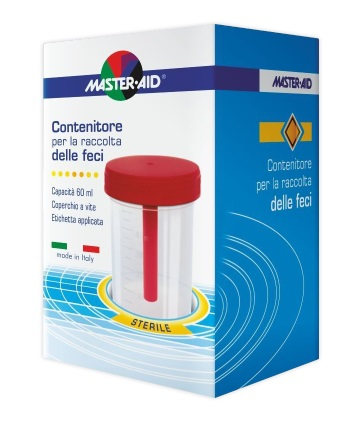 MASTER-AID CONTENITORE RACCOLTA FECI 60 ML - Farmapage.it