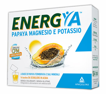 ENERGYA PAPAYA MAGNESIO POTASSIO 14 BUSTINE - Nowfarma.it