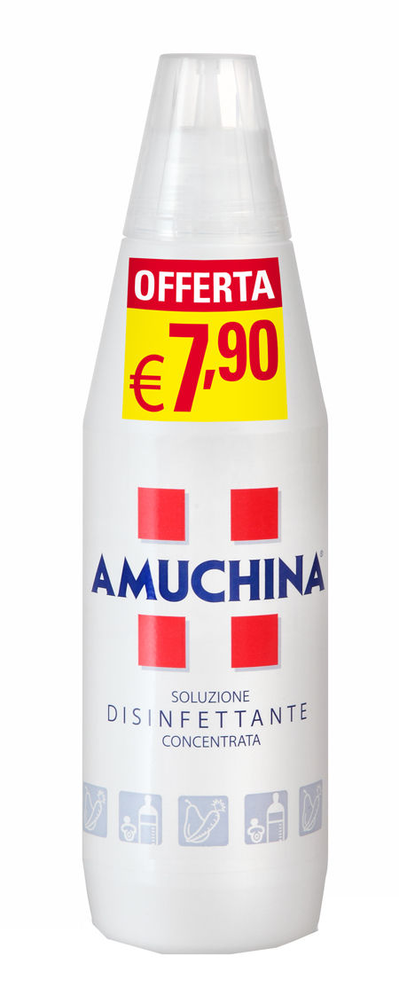 AMUCHINA 100% CONCENTRATA 1 LITRO PROMO - Farmia.it