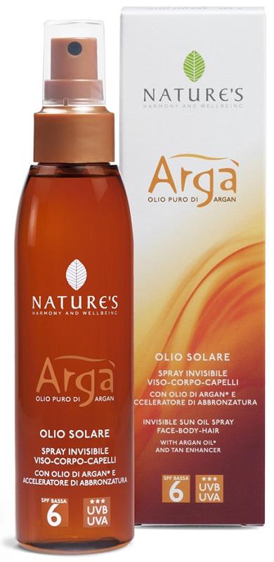 ARGA' OLIO SOLARE SPRAY INVISIBILE SPF 6 150 ML - Farmaseller