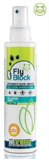 FLYBLOCK LOZIONE ANTIPARASSITARIA GATTO 150 ML - Farmastar.it