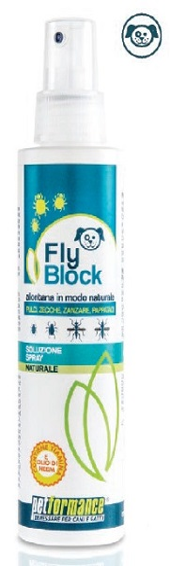 FLYBLOCK LOZIONE ANTIPARASSITARIA CANE 150 ML - Farmawing
