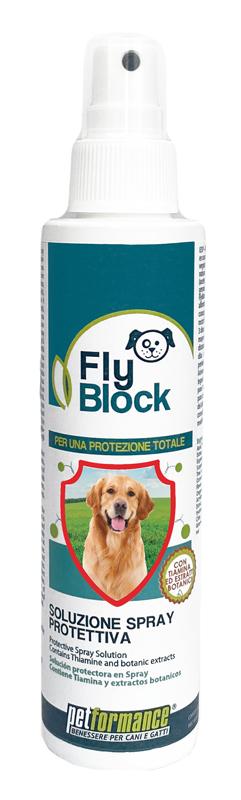 FLYBLOCK SOLUZIONE SPRAY PROTEZIONE CANE 150 ML - Farmastar.it