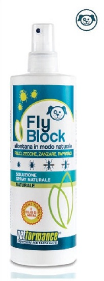 FLYBLOCK LOZIONE ANTIPARASSITARIA CANE 400 ML - Farmawing