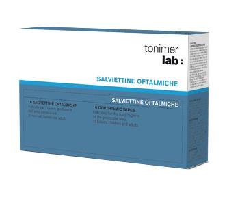 TONIMER LAB SALVIETTE OFTALMICHE 16 PEZZI - La farmacia digitale