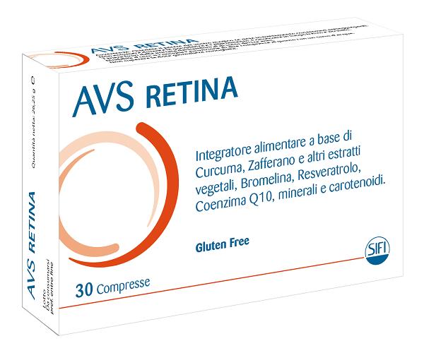 AVS RETINA 30 COMPRESSE - Zfarmacia