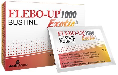 FLEBO-UP 1000 EXOTIC 18 BUSTINE - Farmapc.it