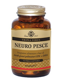 Solgar Neuro Pesce Integratore Alimentare 50 Perle Softgels - Farmafamily.it