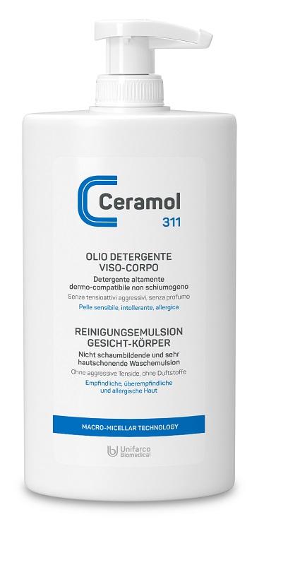 Ceramol 311 olio Detergente per Viso e Corpo 400 ml - latuafarmaciaonline.it