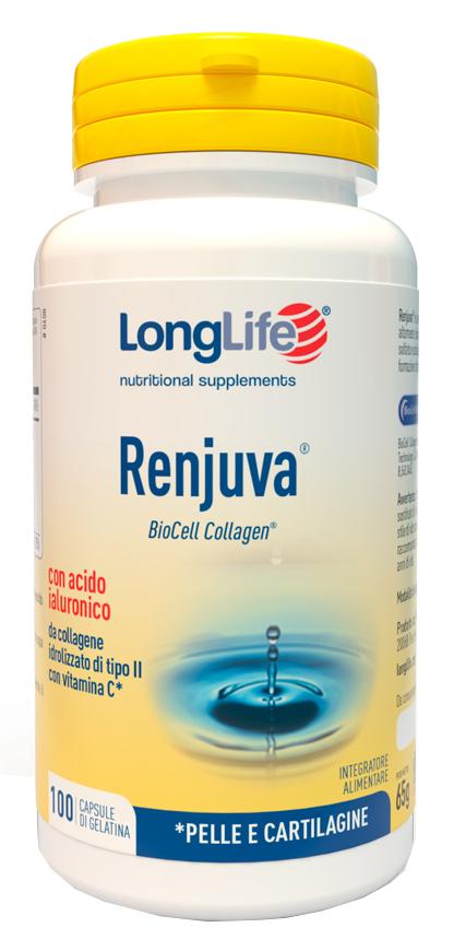 LONGLIFE RENJUVA 100 CAPSULE - Farmacia Centrale Dr. Monteleone Adriano