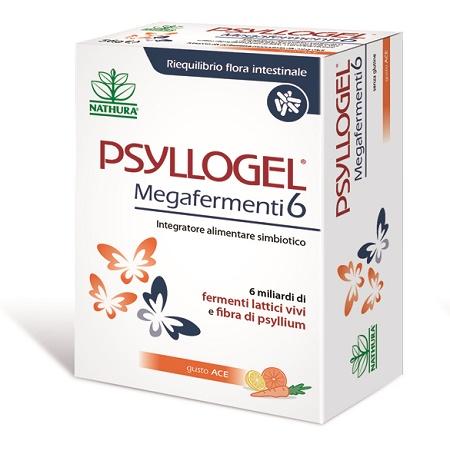 PSYLLOGEL MEGAFERMENTI 6 ACE 20 BUSTE 56 G - latuafarmaciaonline.it