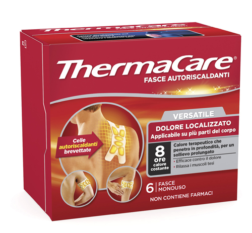 THERMACARE FLEXIBLE FASCIA 6 PEZZI - Farmastar.it