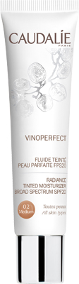 VINOPERFECT FLUIDO COLORATO SPF 20 02 MEDIUM 40 ML - Farmawing