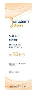 SARODERM SUN SPRAY SPF 50+ 100 ML - Farmaseller
