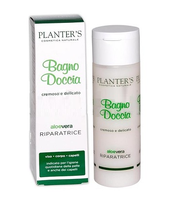 PLANTER'S ALOE VERA BAGNODOCCIA RIPARATRICE 10 REGOLE 200 ML - Farmaseller