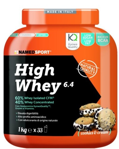 HIGH WHEY COOKIES AND CREAM 1 KG - Farmacia Giotti