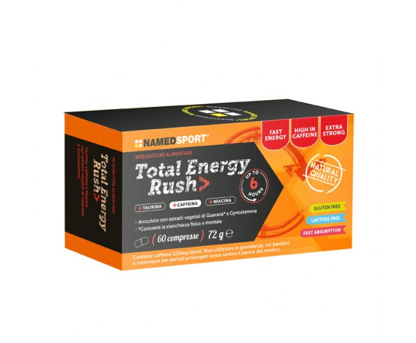 TOTAL ENERGY RUSH 60 COMPRESSE - Farmacia Massaro