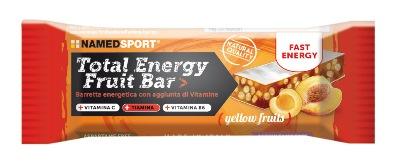 TOTAL ENERGY FRUIT BAR YELLOW FRUIT 1 PEZZO - Farmaciacarpediem.it