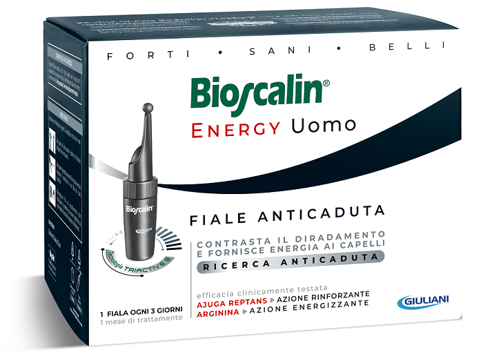 BIOSCALIN ENERGY 10 FIALE DA 3,5 ML L'UNA - Farmafamily.it