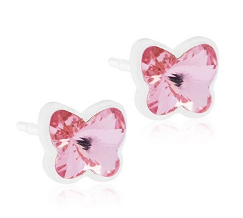Image of BLOMDAHL GIOIELLO MP BUTTERFLY 5MM LIGHT ROSE
