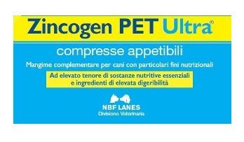 ZINCOGEN PET ULTRA BLISTER 60 COMPRESSE APPETIBILI - FARMAPRIME