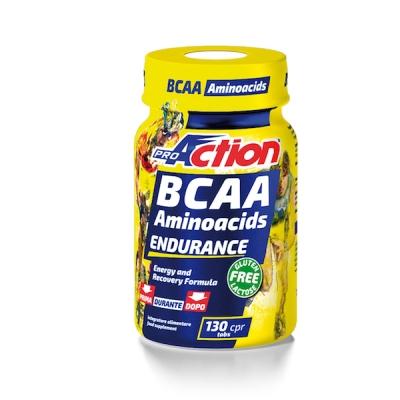 PROACTION BCAA AMINOACIDS ENDURANCE 130 COMPRESSE - Farmacia Giotti