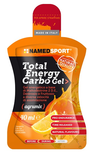 TOTAL ENERGY CARBO GEL AGRUMIX 40 ML - Farmafamily.it
