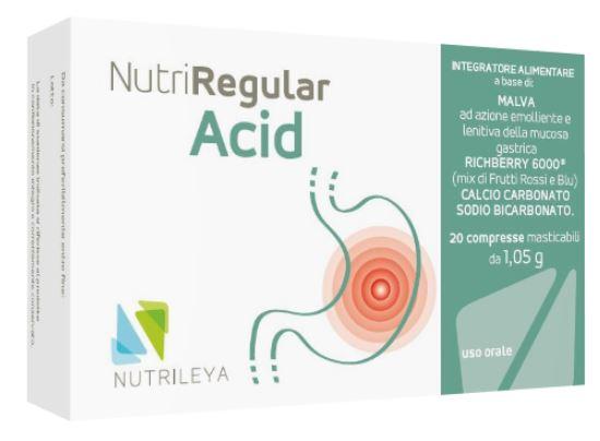 Nutriregular Acid 20 Compresse Masticabili - Arcafarma.it