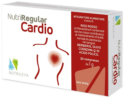 NUTRIREGULAR CARDIO 20 COMPRESSE - Farmacia 33