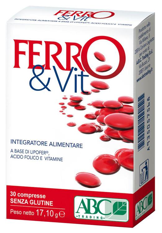 FERRO&VIT 30 COMPRESSE - Parafarmacia la Fattoria della Salute S.n.c. di Delfini Dott.ssa Giulia e Marra Dott.ssa Michela