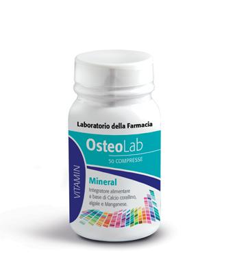 OSTEOLAB MINERAL 50 COMPRESSE - Farmapage.it