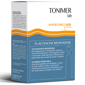 TONIMER LAB HYPERTONIC 18 FLACONCINI MONODOSE - Farmapage.it