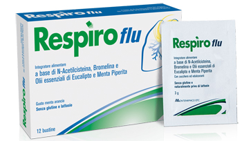 RESPIRO FLU 12 BUSTINE - Spacefarma.it