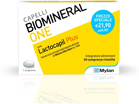 BIOMINERAL ONE LACTOCAPIL PLUS 30 TP - Farmabros.it