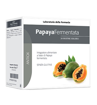 LABORATORIO DELLA FARMACIA PAPAYA FERMENTATA 30 BUSTINE LINEA ANTIOX - Farmaciacarpediem.it