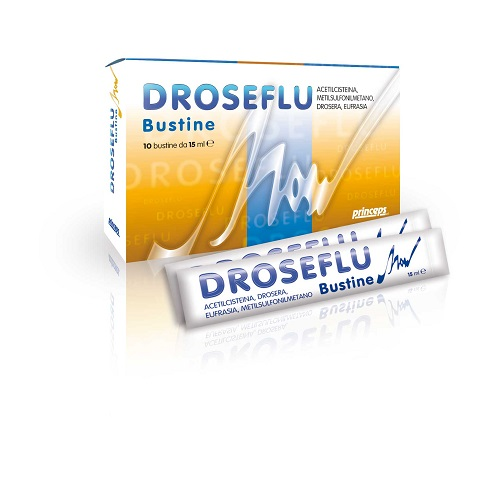 DROSEFLU 10 BUSTINE 15 ML - Farmaseller