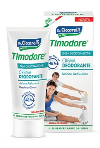 TIMODORE CREMA DEODORANTE 48 ORE 50 ML - Farmafamily.it